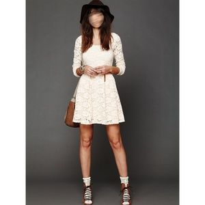 ❤SALE❤ NWOT Free People lace fit & flare dress
